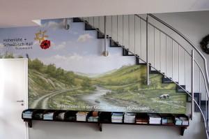 Innenwandmalerei für den Hohenlohe + Schwäbisch Hall Tourismus e.V.