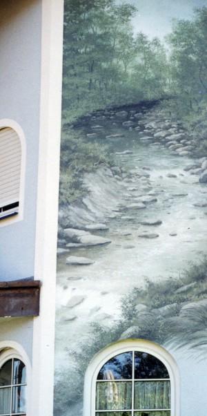 Außenwandmalerei Jagst.